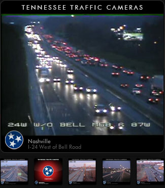 Tennessee Traffic Cameras Widget